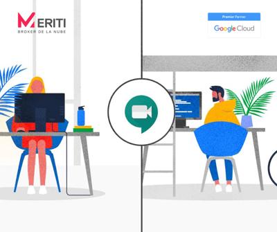 Google Meet + Meriti