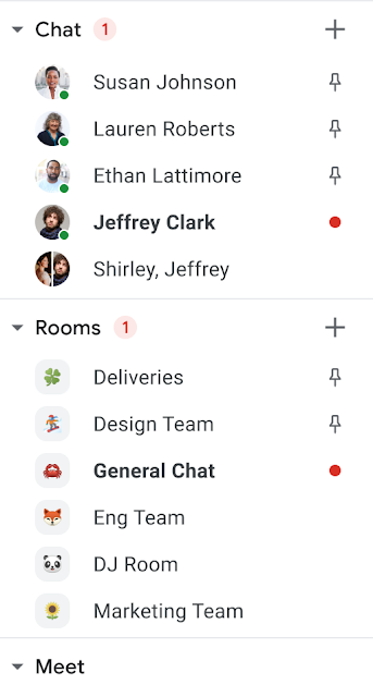 Pines Google Chat