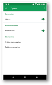 MERITI - Hangouts Android
